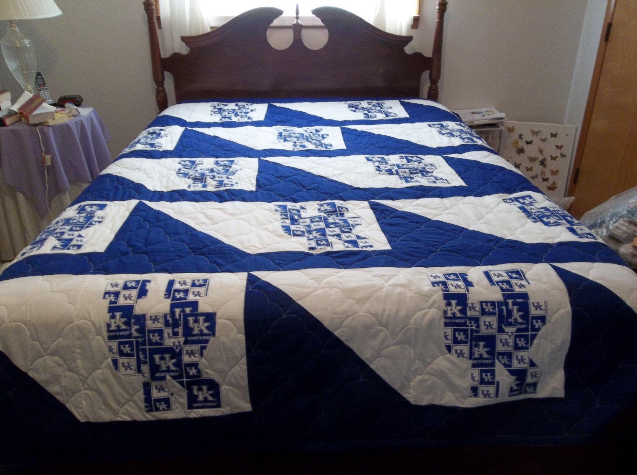 University of Kentucky Quilt @sarahmvain @barbrease | crafts ... : university of kentucky quilt - Adamdwight.com