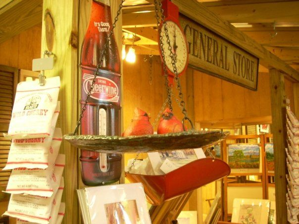 NC General Store is a charming, old-fashioned shop in historic Wake Forest NC. Huge selection of sauces, seasonings, candy, crafts, art & other things made in NC and celebrating North Carolina