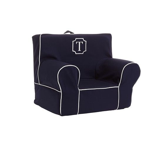 My First Navy Harper Anywhere Chair 174 Kids Chair Lounge
