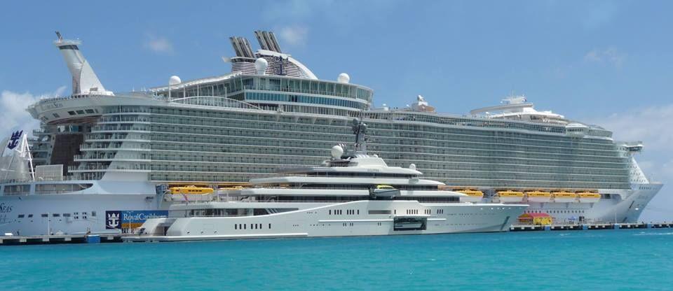 Biggest Cruise And Biggest Yacht Yacht Big Yachts Luxury Yachts