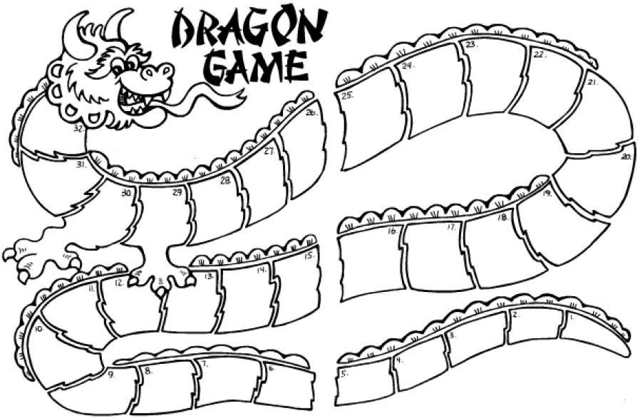 Ideas to Help You Teach Chinese: Dragon Board Game