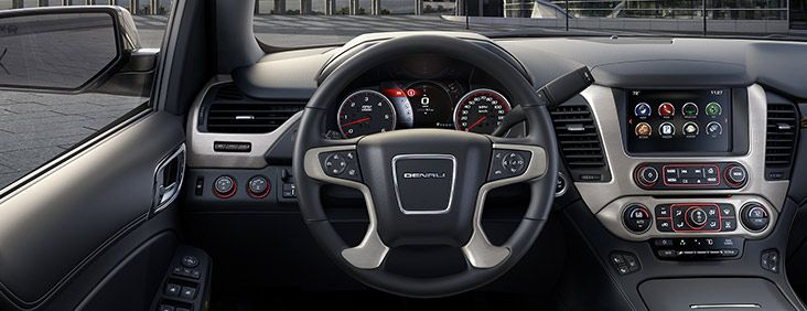The 2016 Yukon Denali Features A Heated Steering Wheel Yukon