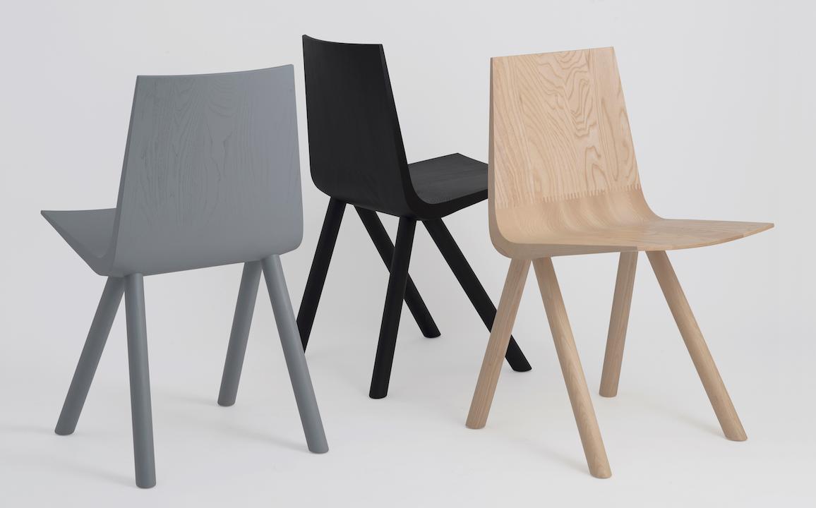 Cresta Solid Wood Shell Chair   Design Milk