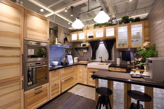Pin by lindsey osborne on outdoor kitchen pinterest swedish kitchen kitchens and house - Ikea outdoor kitchen cabinets ...