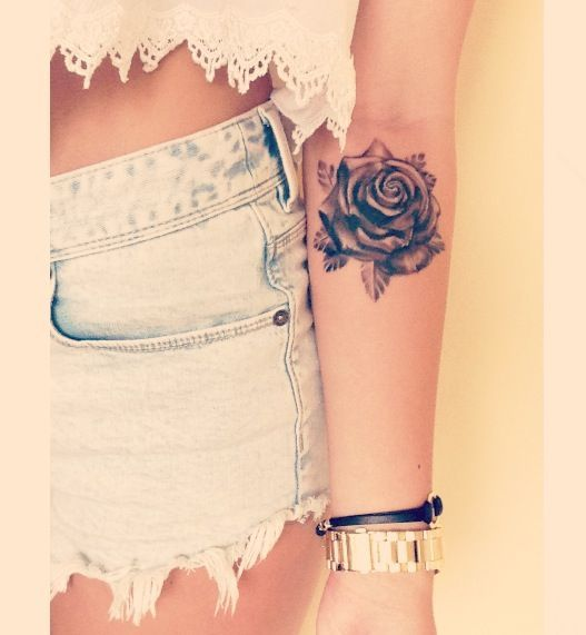 Pretty Rose Tattoo