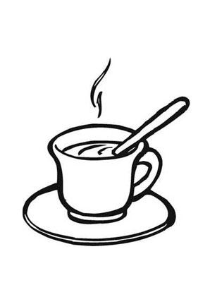 Ausmalbild Kaffee Tasse Kaffee Kaffeetassen Malvorlagen