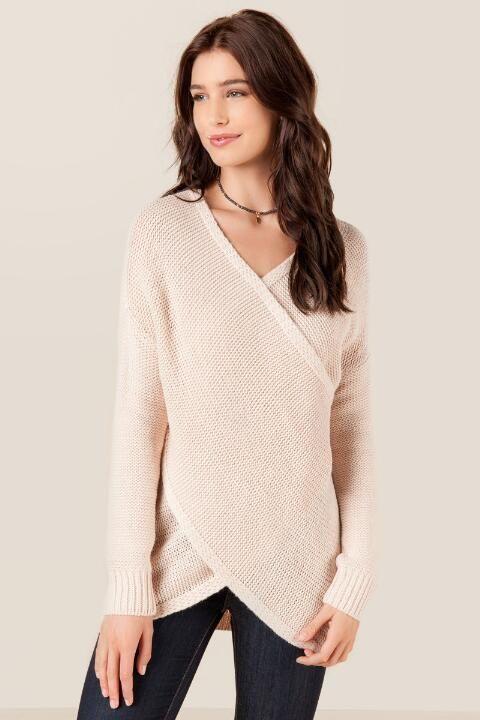 Parker Draped Surplus Sweater