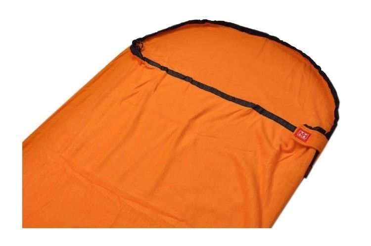 For That Extra Warmth, Nice High Quality Light-Weight Fleece Sleeping Bag 4 Colors