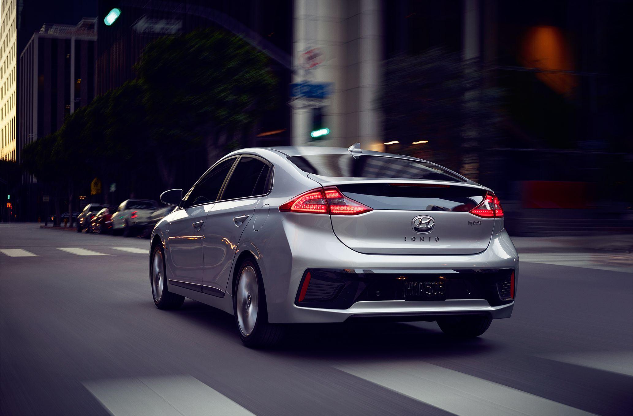 The 2017HyundaiIoniq will take you anywhere Hyundai