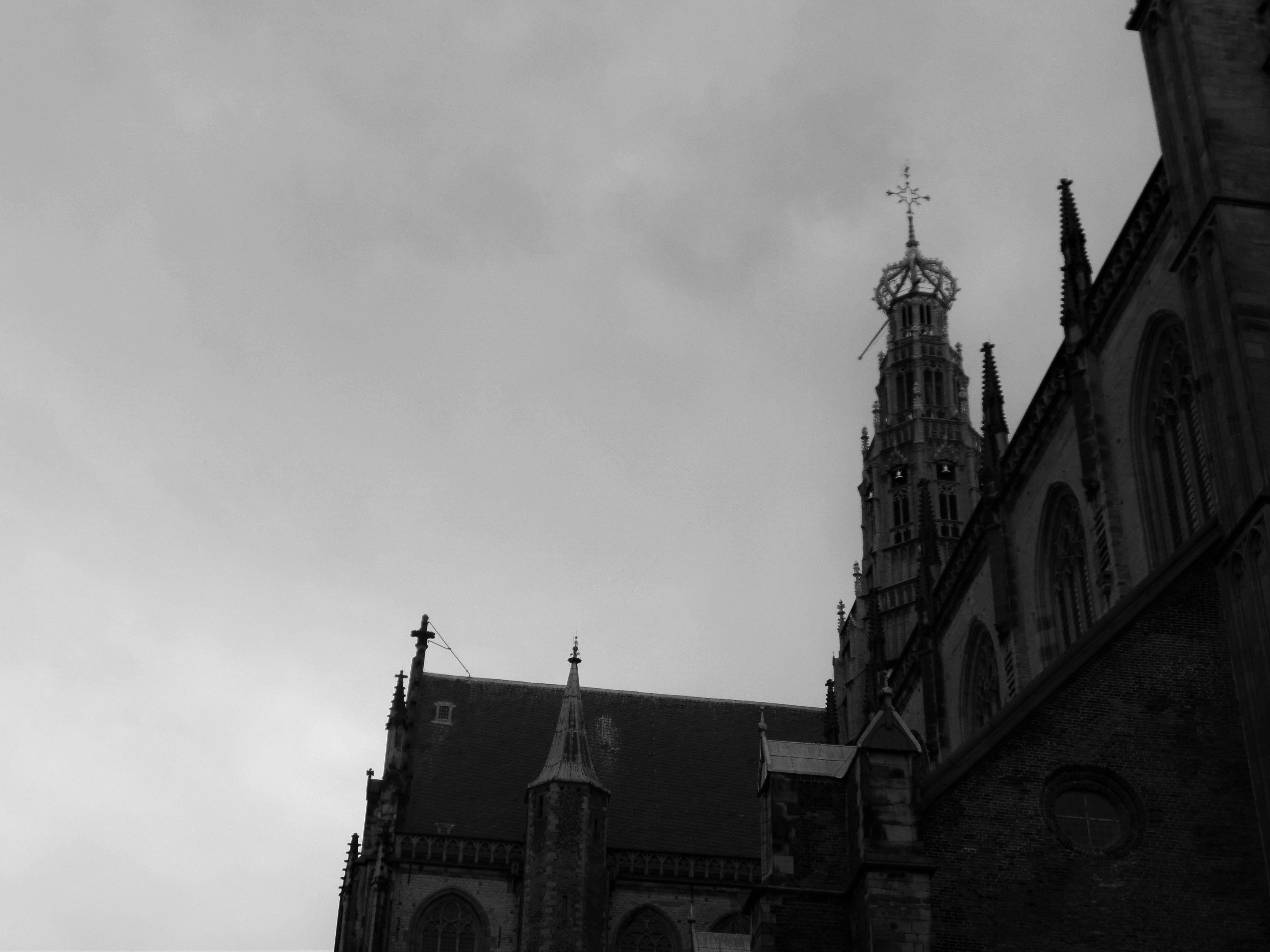 Dutch Spires.Grote Kerk Haarlem