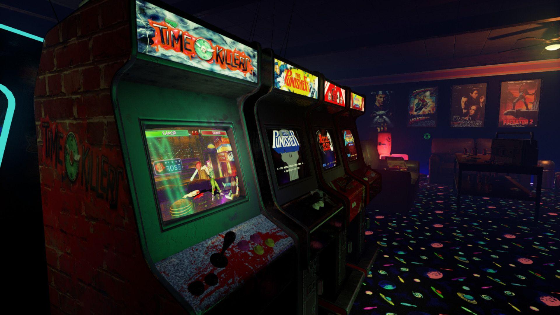 Res 1920x1080 Retro Arcade Arcade Retro Arcade Machine