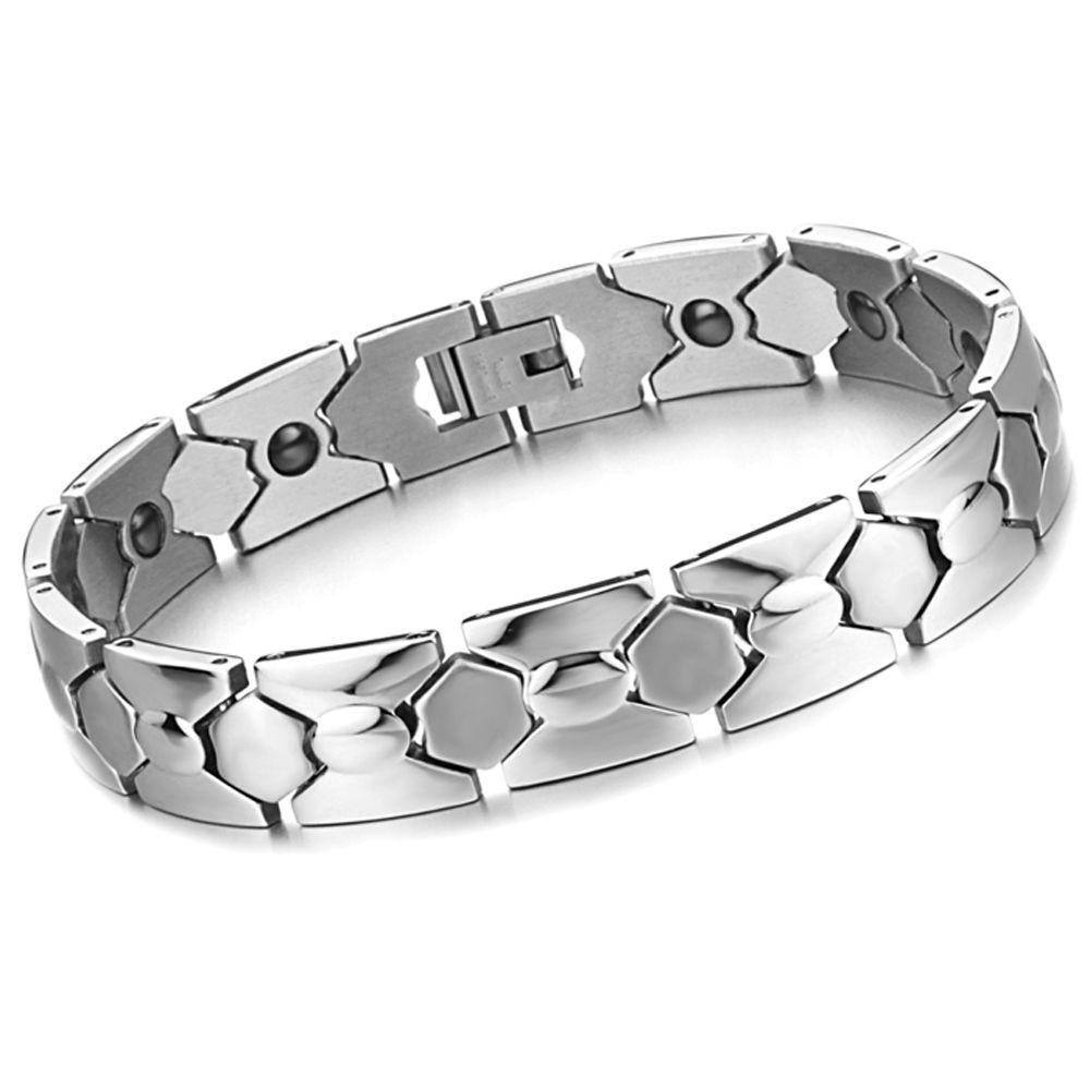 Korean jewelry wholesale new geometry magnetic health germanium