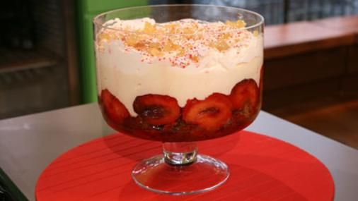Bbc Food Recipes Plum And Ginger Trifle Buffet Events