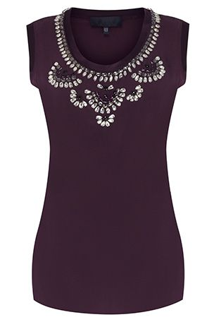 #Bastyan Bella Embellished Top: Was £125 | Now £75