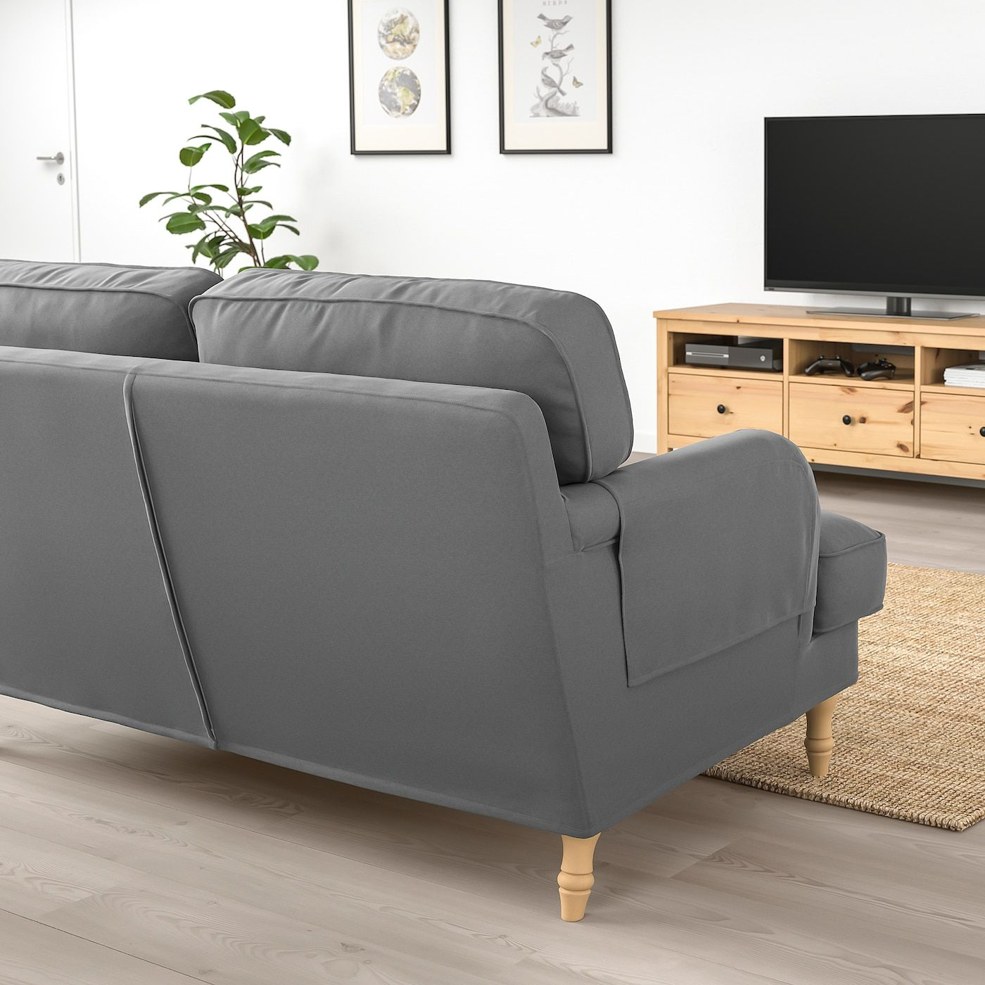Stocksund 2er Sofa Ljungen Mittelgrau Heute Noch Kaufen Ikea Osterreich In 2020 Stocksund Sofa Sofa Frame Ikea Stocksund