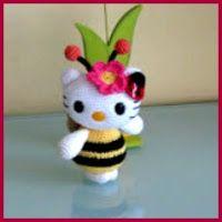 Diversidades: patrones gratis de crochet, amigurumi y manualidades: HELLO KITTY Y SUS AMIGOS AMIGURUMIS