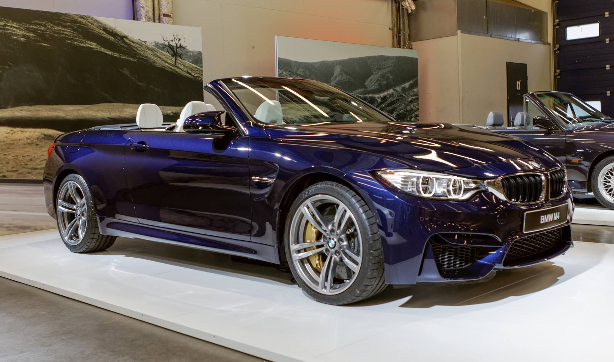 The Fantastic New Bmw M4 Convertible Finished In Individual Tanzanite Blue Metallic Paintwork Www Knightsbmw Com Bmw New Bmw Bmw M4