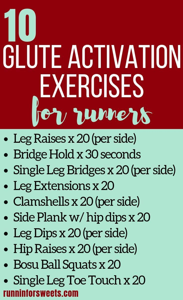 Suffering from lazy glutes on the run? These glute activation exercises for runners will strengthen...