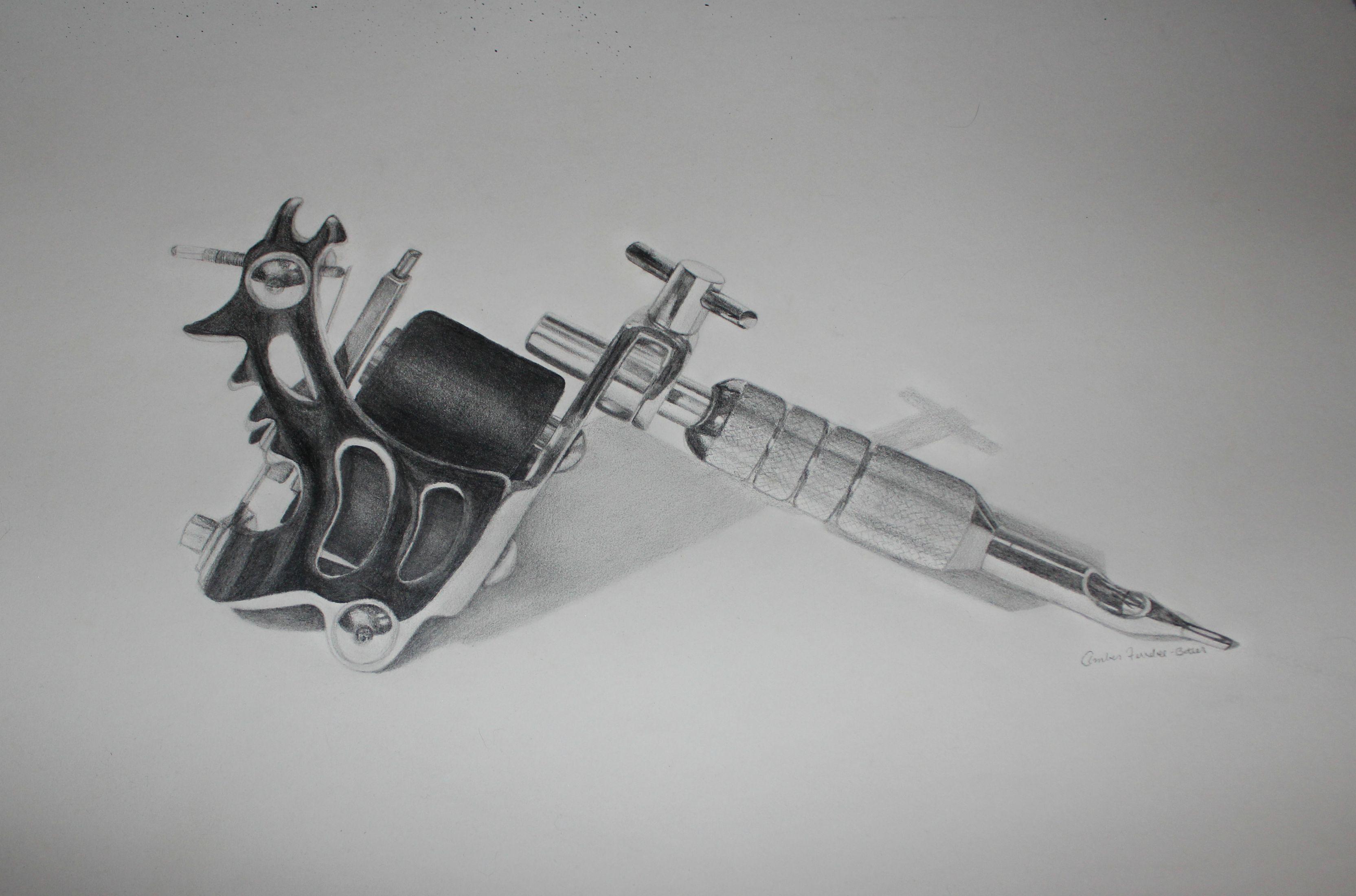 эскиз картинка тату машинка самое главное