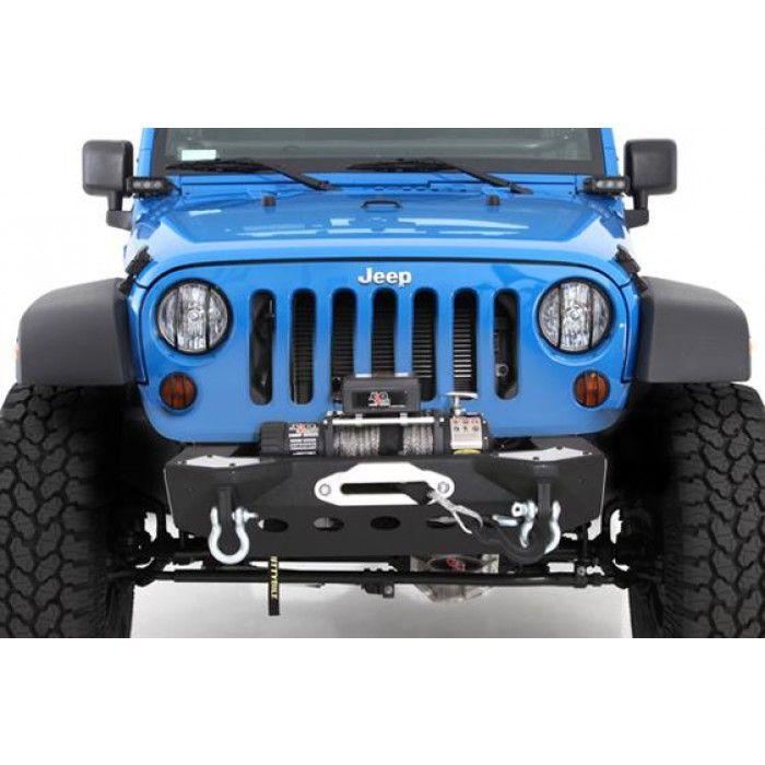 2007 2015 Jeep Wrangler Jk Winch Bumper Smittybilt 76825 Modular Front Jeep Wrangler Jk Jeep Wrangler 2015 Jeep Wrangler