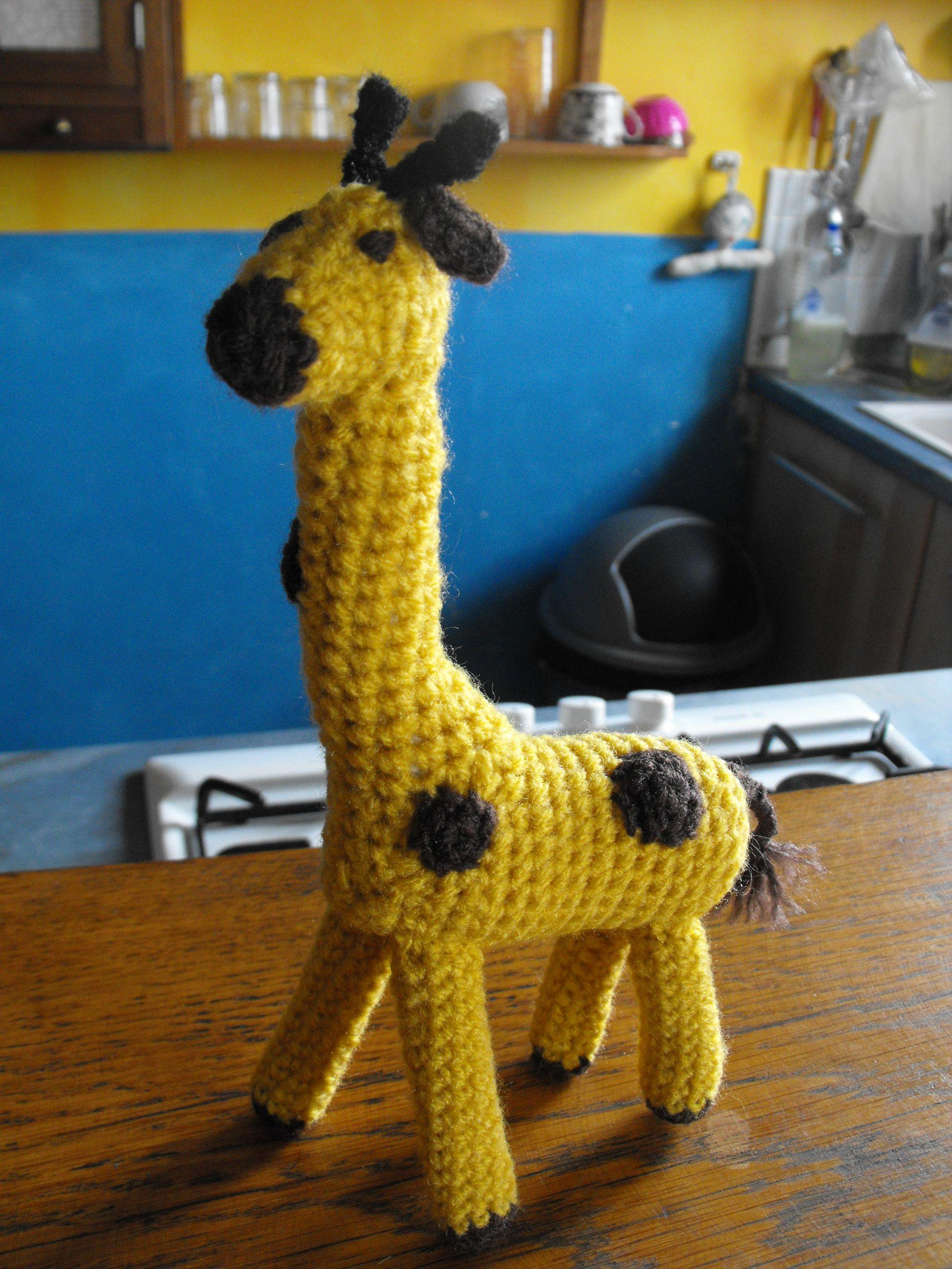 la girafe demandée par Sacha