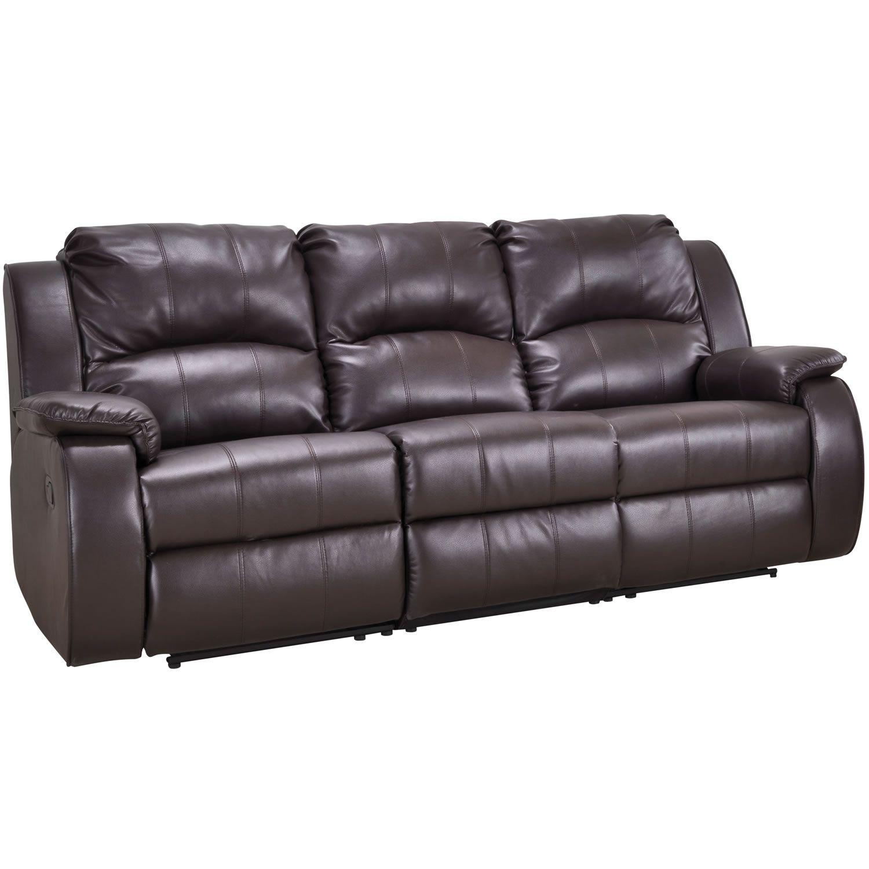 Milano Recliner Leather 3 Seater + 2 Seater Sofa Suite Set, Gordons  Furniture
