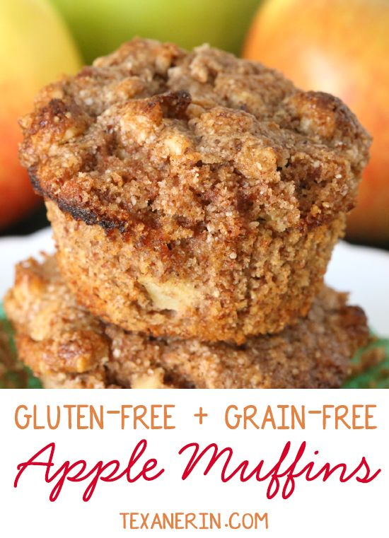 Gluten Free And Grain Free Apple Muffins Super Moist Simple And