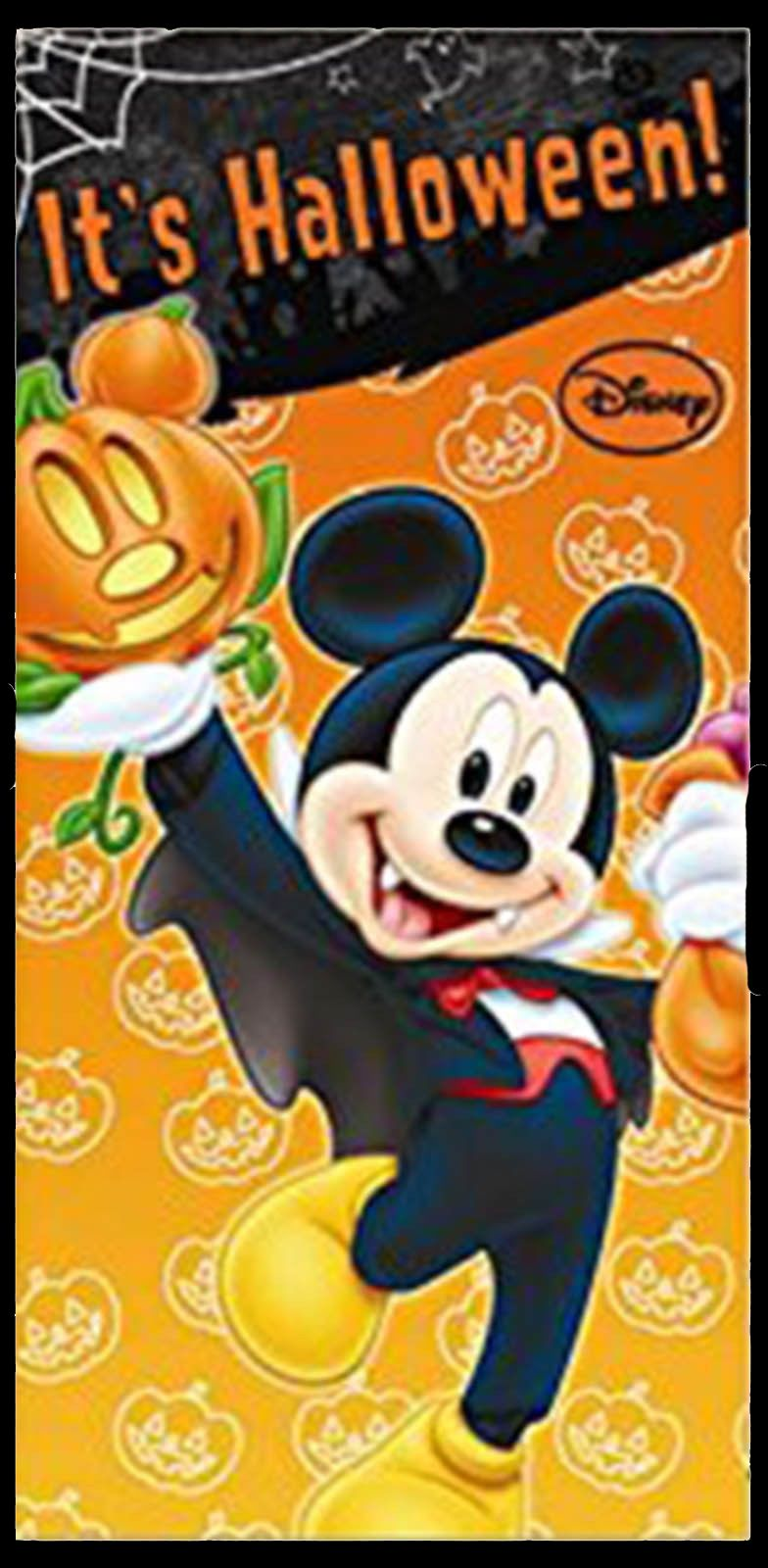 halloween disney mickey minnie mouse party door poster - Mickey Minnie Halloween