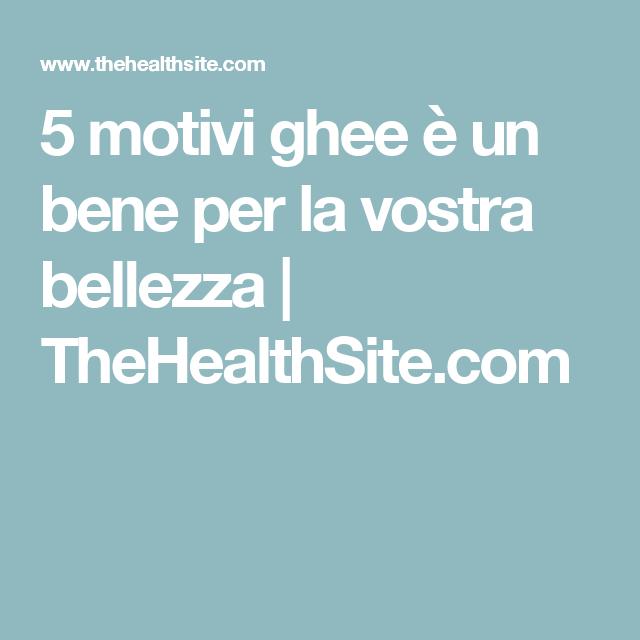 5 motivi ghee è un bene per la vostra bellezza |  TheHealthSite.com