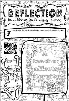 Summer Brain Breaks for Teachers Motivation & Reflection ...