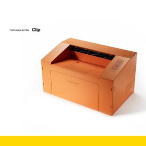 Clip - Un-screw Assembly Personal Mono Laser Printer | Industrial Designers Society of America - IDSA