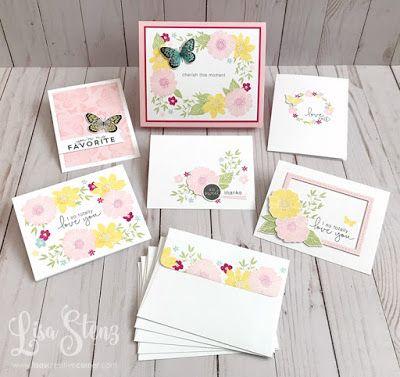 Lisa's Creative Corner: April Project Kit - Love So Sweet Boxed Card Kit #cardkit