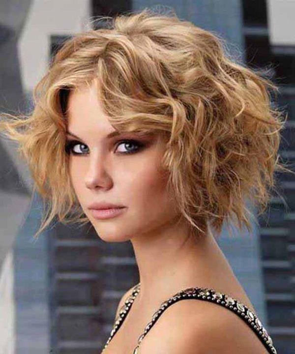 Mode Germany Asymmetrische Frisuren 2016 Frisuren Kurze Lockige