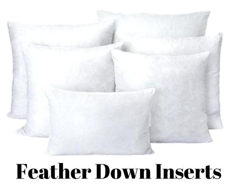 Pillow Insert Pillow Forms Down Pillow Inserts Feather Pillow