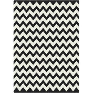 Milliken Black White Vibe Techno Black Rug Walmart 340 Black