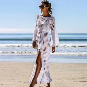 Bohemian Maxi Dress #crochetbeachdress