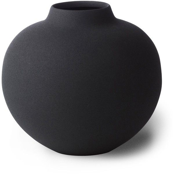 Mona Black Round Vase Lm Home Wholesale Liked On Polyvore