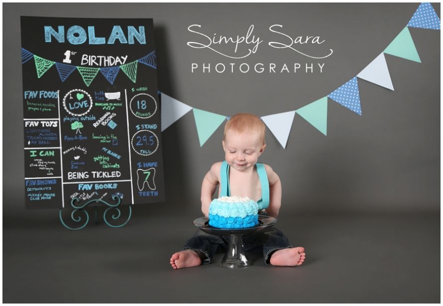Nolan 1 Year Old {Billings, MT Child & Family