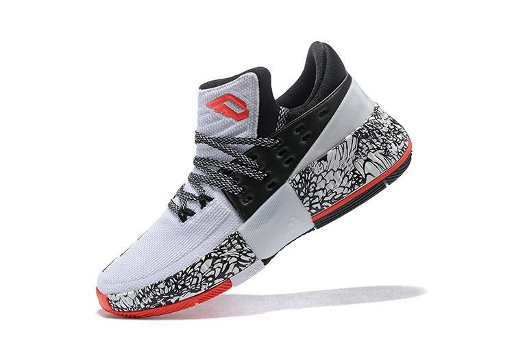 Free Shipping Only 69  2017 New Damian Lillard Shoes adidas Dame 3 CNY  Chinese New 38529e756