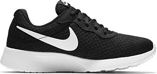 2018 Comfortable Zapatillas Nike Tanjun GS negro rosa