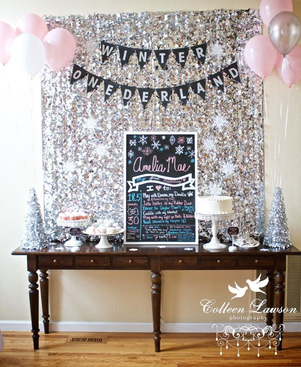reader style A Winter Onederland First Birthday Party Winter