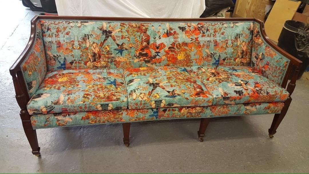 Mary velvet antique sofa. blackpop.co.uk. stunning