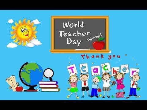 World Teacher S Day Children S Animation Workshop Creative Stories Cartoons Kids Stories Moralstory B World Teacher Day World Teachers Teachers Day