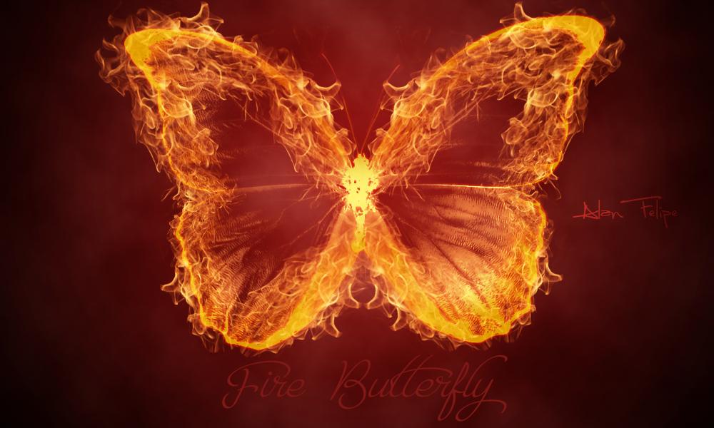 Картинки огненная бабочка
