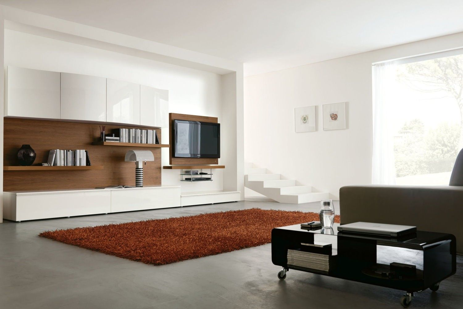 Modern and awesome wall mount ikea besta cabinet: modern living room ...