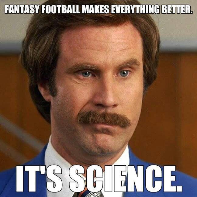 It S Science Fantasy Football Funny Fantasy Football Humor