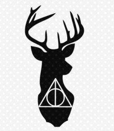 Descargar Harry Potter Reliquias De La Muerte Ciervo Svg