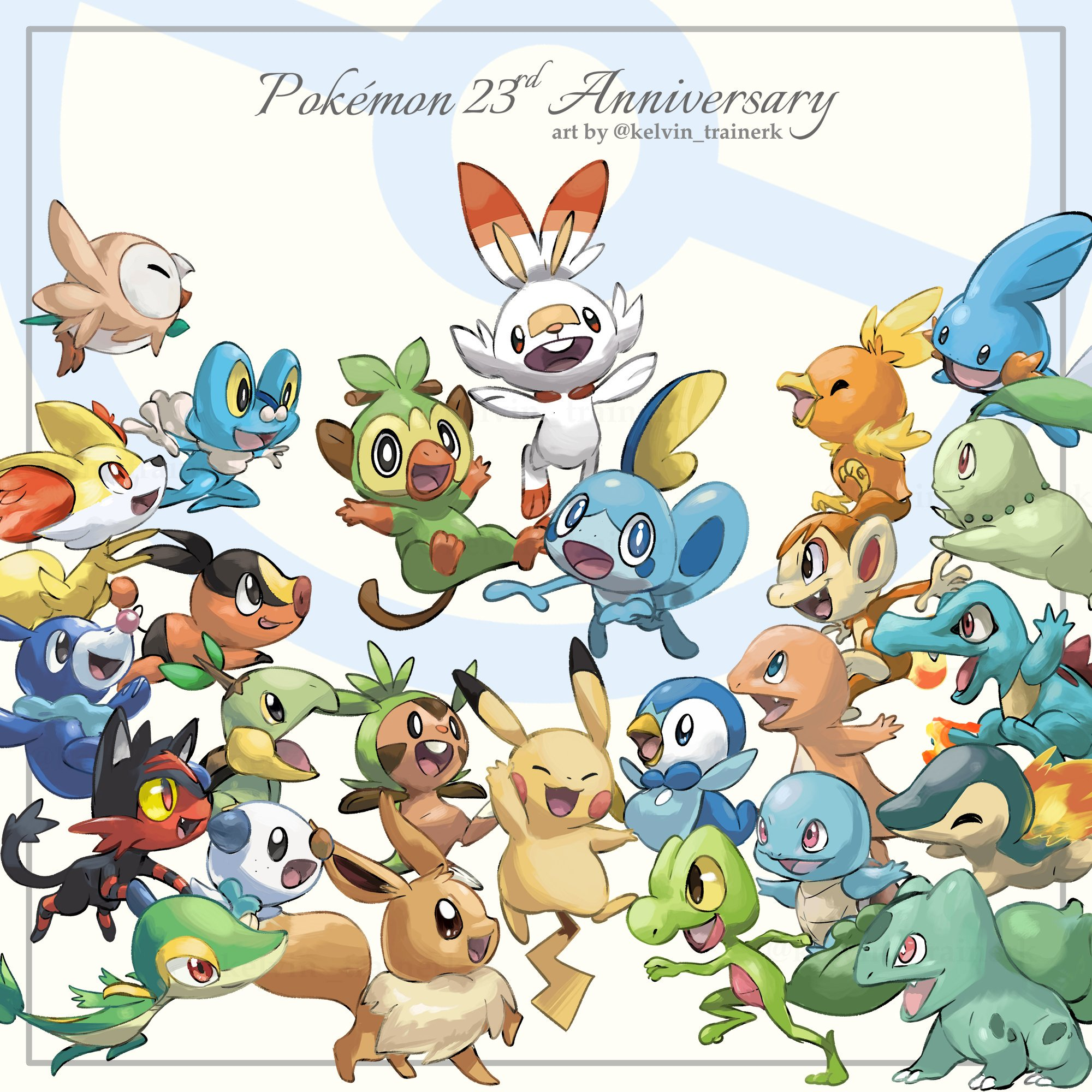 Kelvin On Pokemon Pokemon Pokemon Starters Cool Pokemon