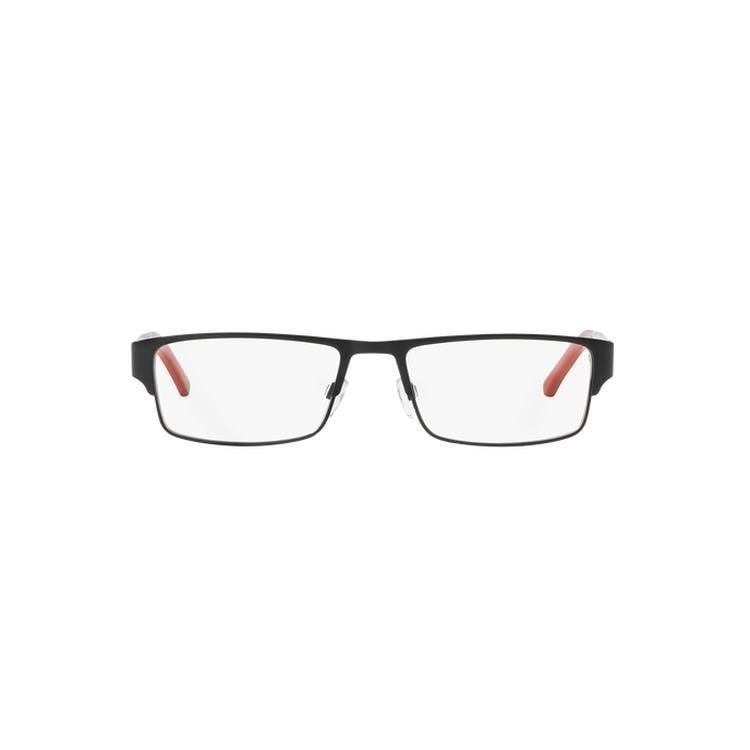 5ae01711f831 Emporio Armani Men s EA1005 3008 54 Rectangle Plastic Clear Eyeglasses