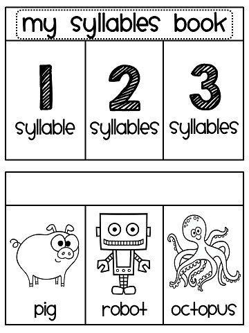SYLLABLES - TeachersPayTeachers.com   Syllables activities ...
